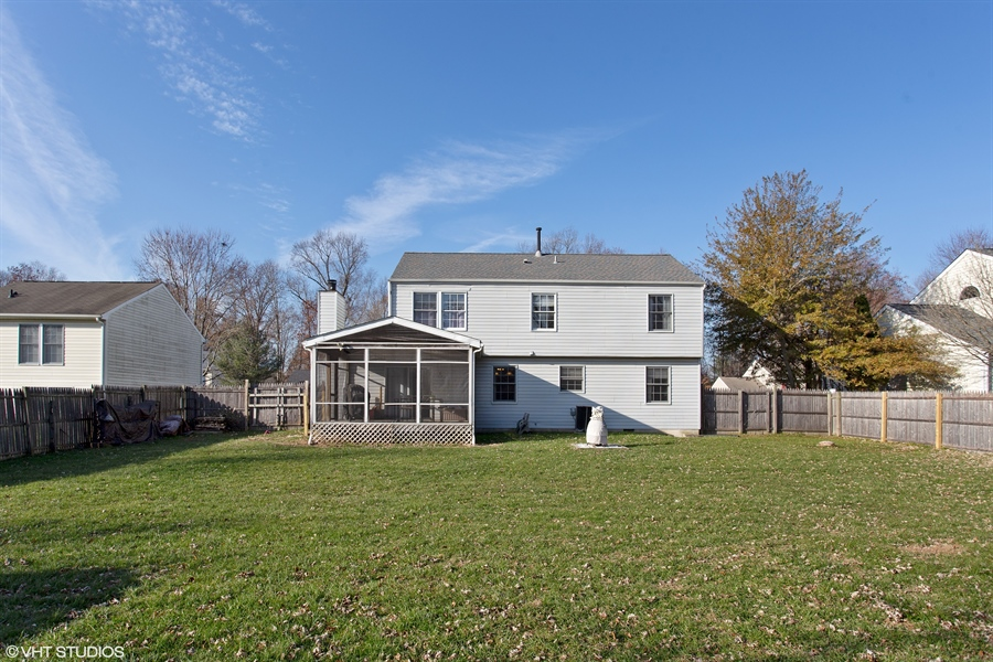 Real Estate Photography - 237 Cheyenne Dr, Bear, DE, 19701 - Rear view of house