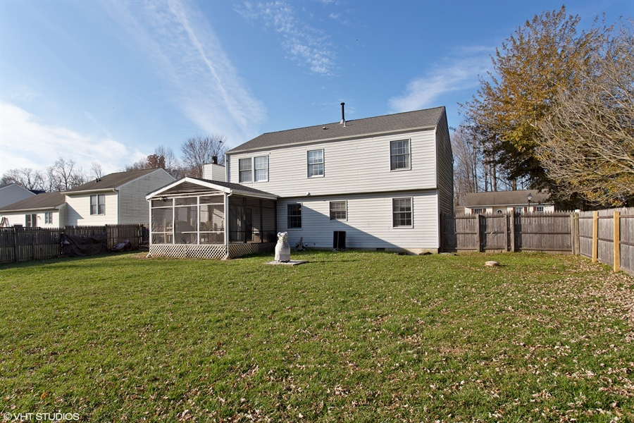 Real Estate Photography - 237 Cheyenne Dr, Bear, DE, 19701 - Another angle of the rear yard
