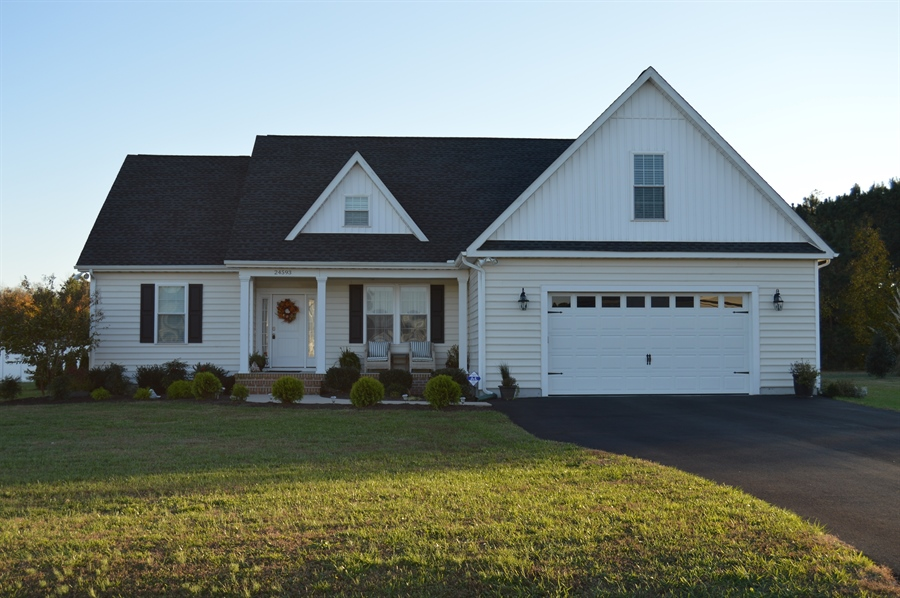 Real Estate Photography - 24593 Hollytree Cir, Georgetown, DE, 19947 - Front view
