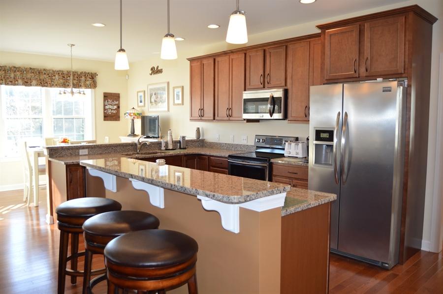 Real Estate Photography - 24593 Hollytree Cir, Georgetown, DE, 19947 - Open kitchen