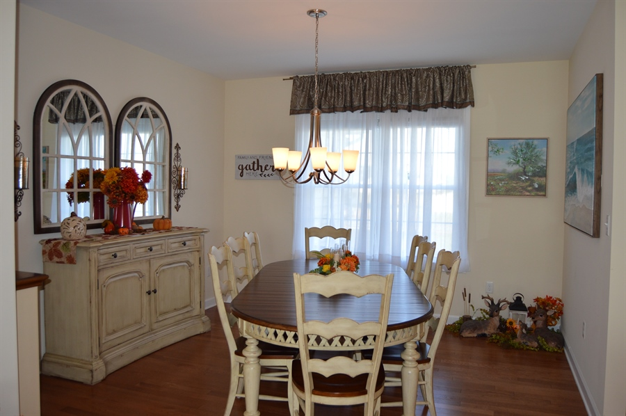 Real Estate Photography - 24593 Hollytree Cir, Georgetown, DE, 19947 - Dining Room