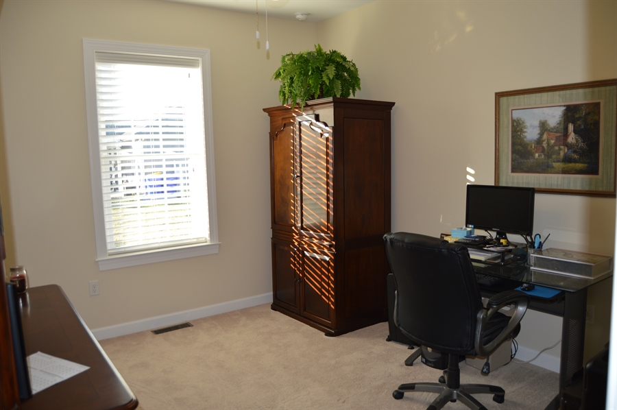 Real Estate Photography - 24593 Hollytree Cir, Georgetown, DE, 19947 - Office/3rd bedroom