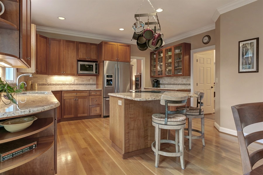 Real Estate Photography - 219 S Pond Rd, Hockessin, DE, 19707 - Another Great Kitchen View!
