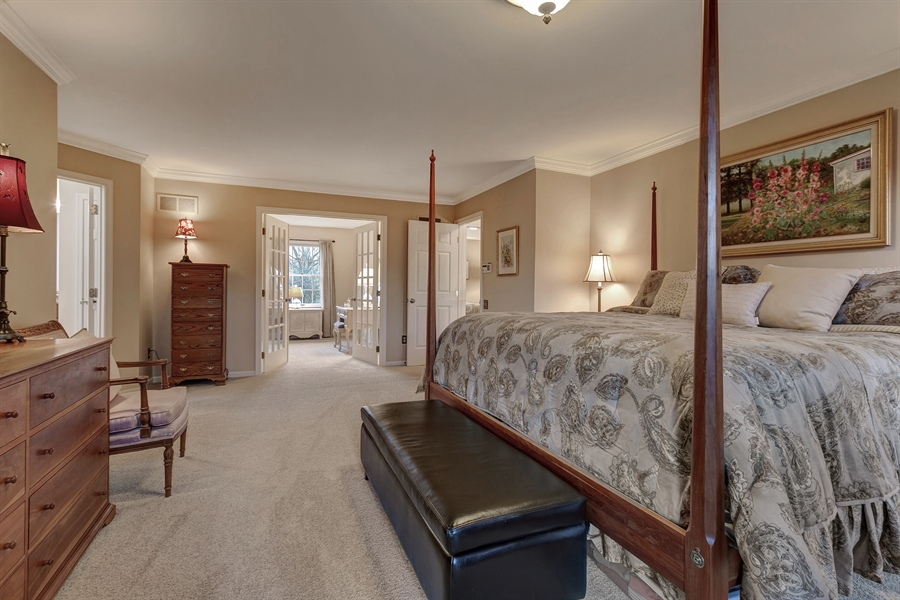 Real Estate Photography - 219 S Pond Rd, Hockessin, DE, 19707 - Another Master Bedroom View