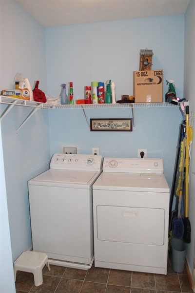 Real Estate Photography - 235 Thomas Jefferson Ter, Elkton, MD, 21921 - Main Level Laundry Room