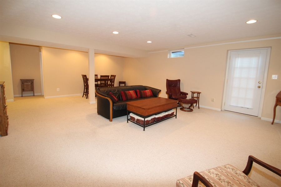 Real Estate Photography - 235 Thomas Jefferson Ter, Elkton, MD, 21921 - Lower Level Family Room