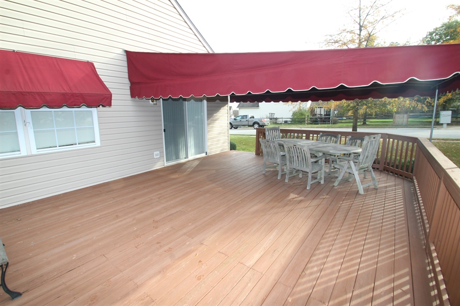 Real Estate Photography - 235 Thomas Jefferson Ter, Elkton, MD, 21921 - Deck