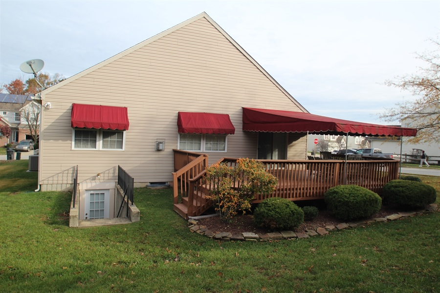 Real Estate Photography - 235 Thomas Jefferson Ter, Elkton, MD, 21921 - Rear of home