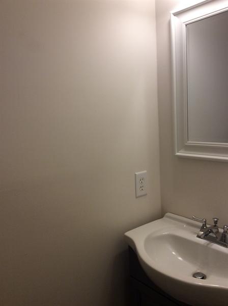 Real Estate Photography - 233 Hope Ct W, Bear, DE, 19701 - Powder bathroom main floor