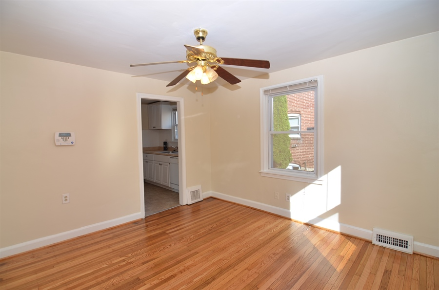 Real Estate Photography - 309 Taft Ave, Wilmington, DE, 19805 - Dining Room with Hardwood Floors