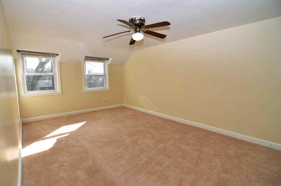 Real Estate Photography - 309 Taft Ave, Wilmington, DE, 19805 - Bedroom 3 with Ceiling Fan