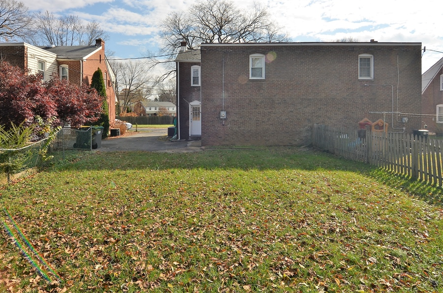 Real Estate Photography - 309 Taft Ave, Wilmington, DE, 19805 - Rear View of Home