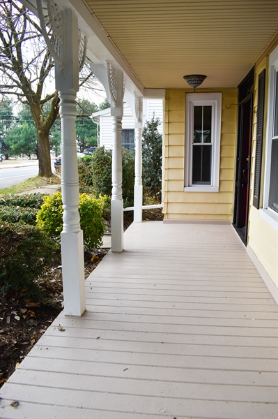 Real Estate Photography - 513 W Main Street, Clayton, DE, 19938 - Lovely Front Porch