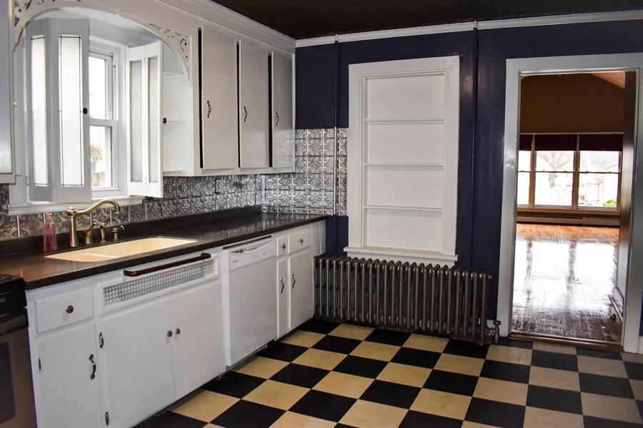 Real Estate Photography - 513 W Main Street, Clayton, DE, 19938 - Large kitchen
