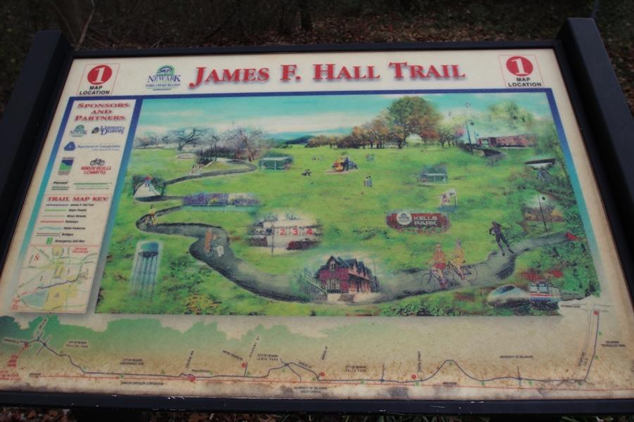 Real Estate Photography - 817 Devon Dr, Newark, DE, 19711 - James F. Hall Trail Map