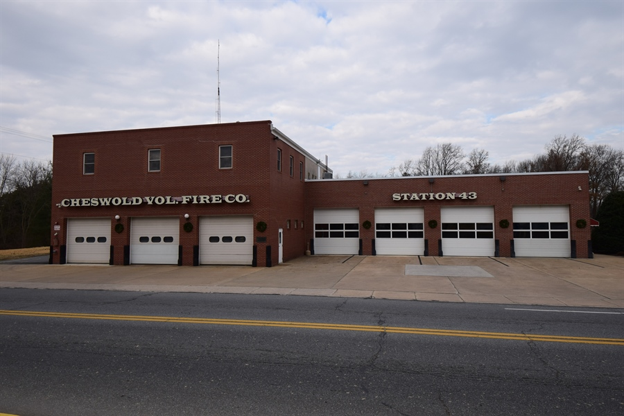 Real Estate Photography - 00 Seven Hickories Road, Dover, DE, 19904 - Cheswold Volunteer Fire Department