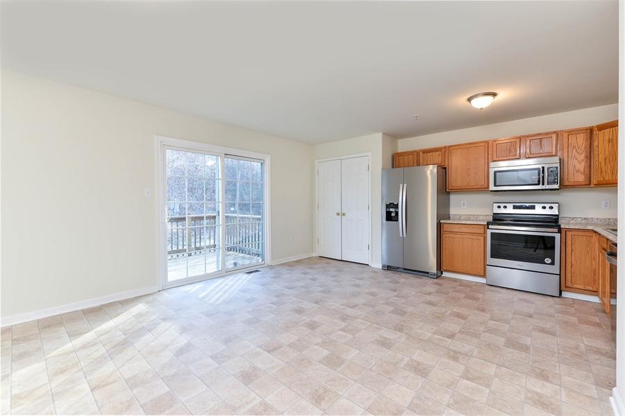 Real Estate Photography - 131 Ben Boulevard, Elkton, DE, 21921 - BIG Country Kitchen, slider to deck