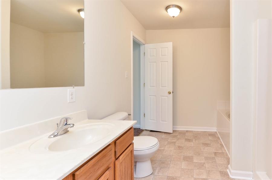 Real Estate Photography - 131 Ben Boulevard, Elkton, DE, 21921 - Double bowl vanity