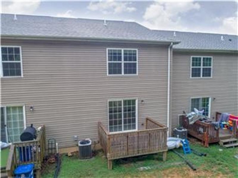 Real Estate Photography - 131 Ben Boulevard, Elkton, DE, 21921 - Rear view with deck off kitchen