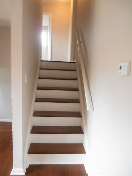 Real Estate Photography - 2115 Peachtree Dr, Wilmington, DE, 19805 - Heading upstairs...