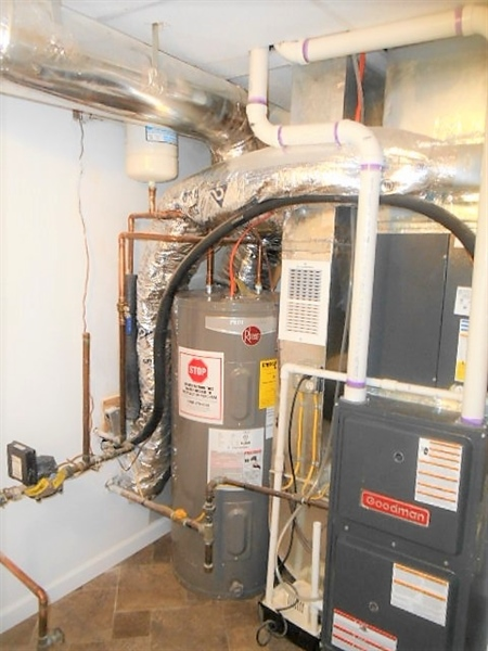 Real Estate Photography - 2115 Peachtree Dr, Wilmington, DE, 19805 - New HVAC and Water Heater