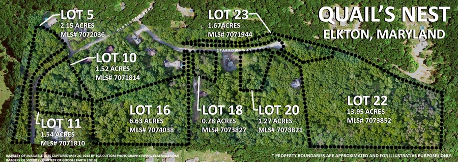 Real Estate Photography - Lot 10 Old Elk Neck Road, Elkton, DE, 21921 - Location 1