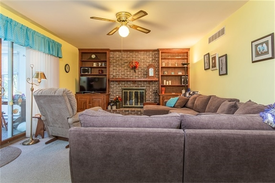 Real Estate Photography - 5 Signal Hill Dr, Hockessin, DE, 19707 - Family Room looking into Sun Room