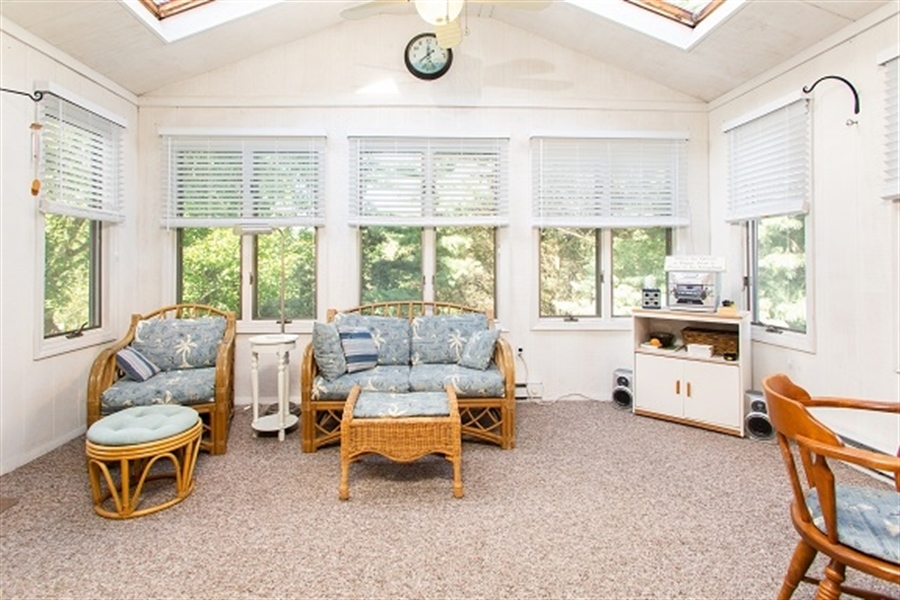 Real Estate Photography - 5 Signal Hill Dr, Hockessin, DE, 19707 - Bright Sun Room to enjoy wooded view