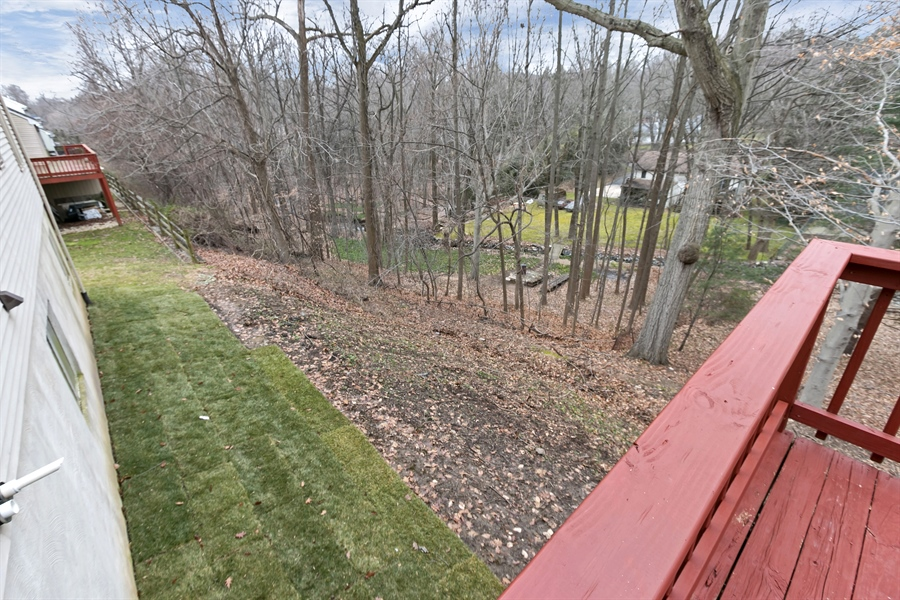 Real Estate Photography - 227 Hawkes Ct, Hockessin, DE, 19707 - Rear Yard with Views of Creek