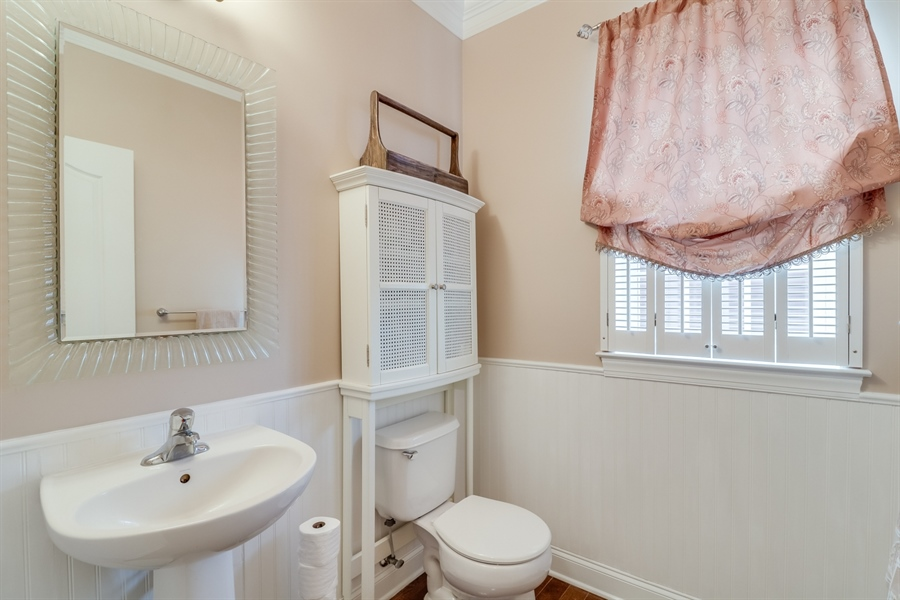 Real Estate Photography - 245 Wickerberry Dr, Middletown, DE, 19709 - Half  bath