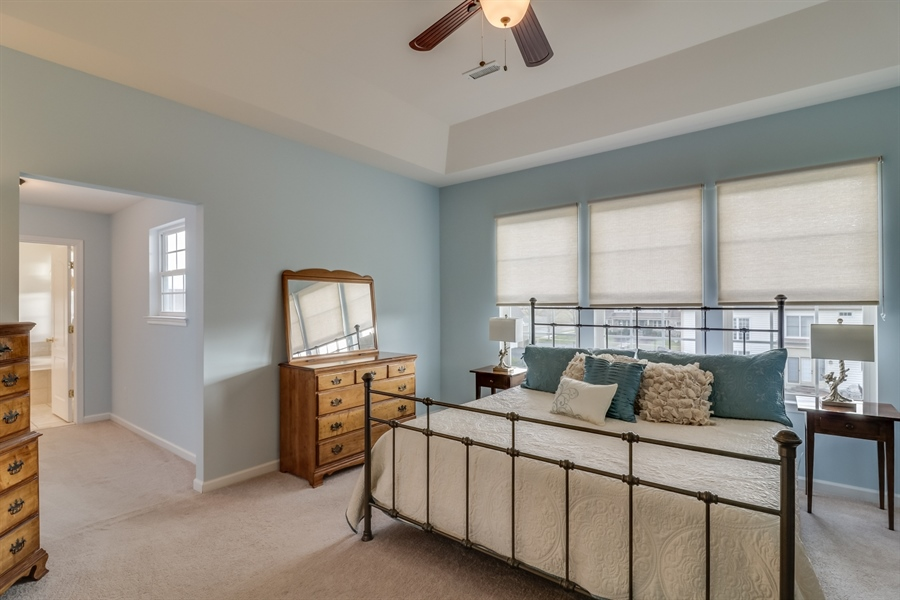Real Estate Photography - 245 Wickerberry Dr, Middletown, DE, 19709 - Master Bedroom