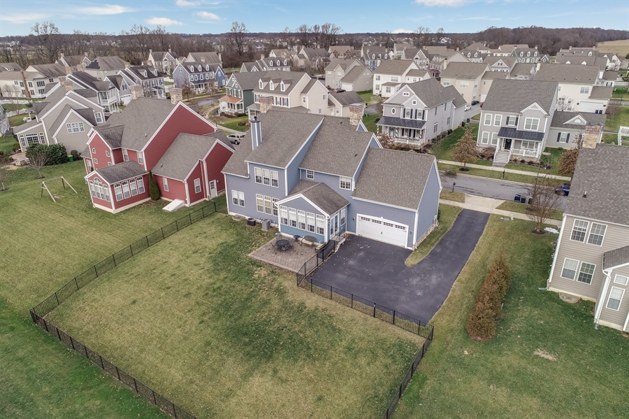 Real Estate Photography - 245 Wickerberry Dr, Middletown, DE, 19709 - Large fenced in yard