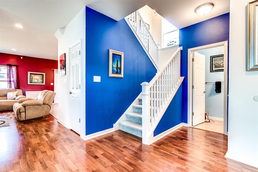 Real Estate Photography - 103 Harker Ave, Wilmington, DE, 19803 - Split Staircase