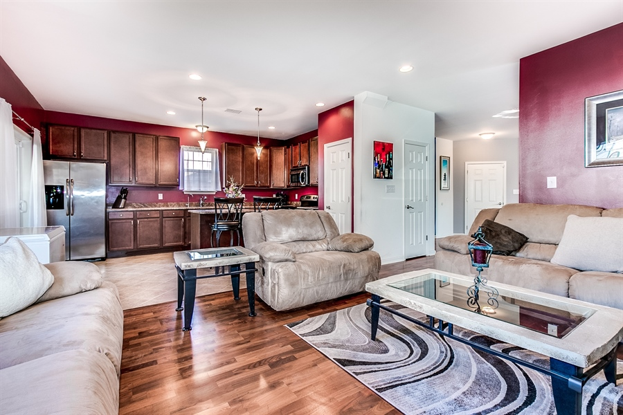 Real Estate Photography - 103 Harker Ave, Wilmington, DE, 19803 - Family Room to Kitchen
