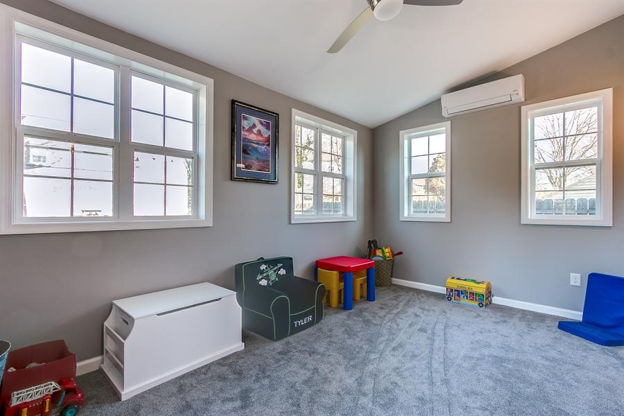 Real Estate Photography - 103 Harker Ave, Wilmington, DE, 19803 - Vaulted Ceiling & Ceiling Fan