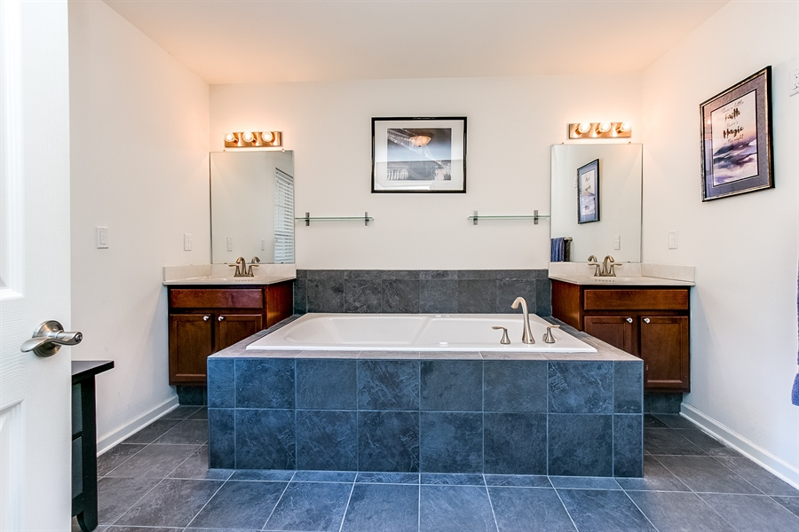Real Estate Photography - 103 Harker Ave, Wilmington, DE, 19803 - Owner's Private Bath