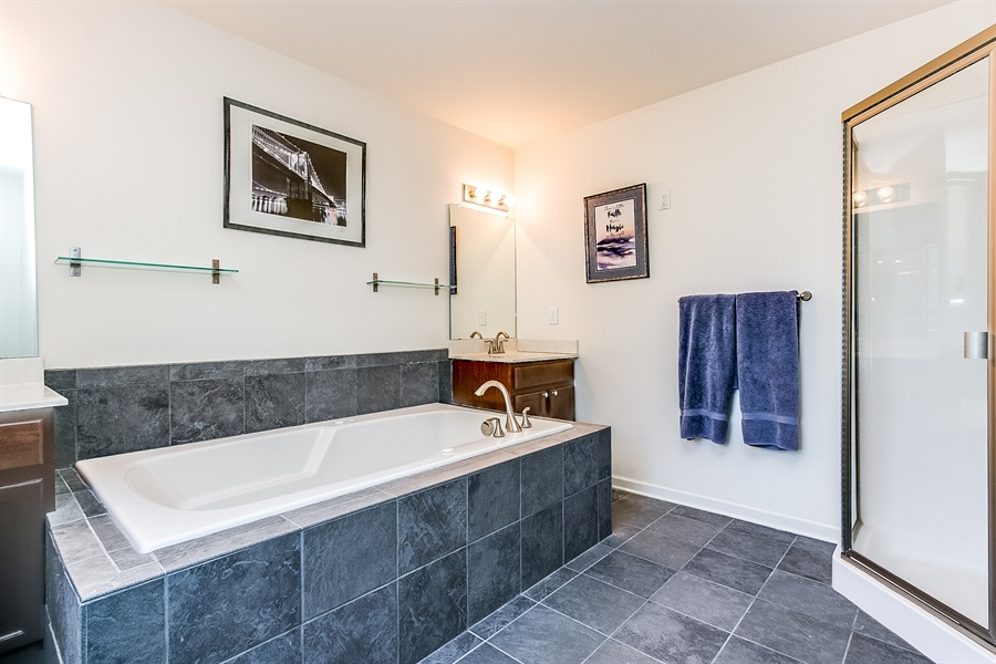 Real Estate Photography - 103 Harker Ave, Wilmington, DE, 19803 - Wonderful Soaking Tub