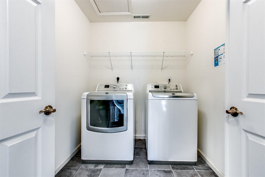 Real Estate Photography - 103 Harker Ave, Wilmington, DE, 19803 - Upstairs Laundry- Nice!