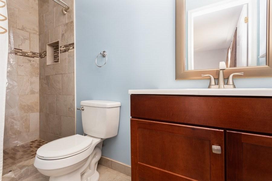 Real Estate Photography - 8 Edgewood Ave, New Castle, DE, 19720 - Master Bathroom