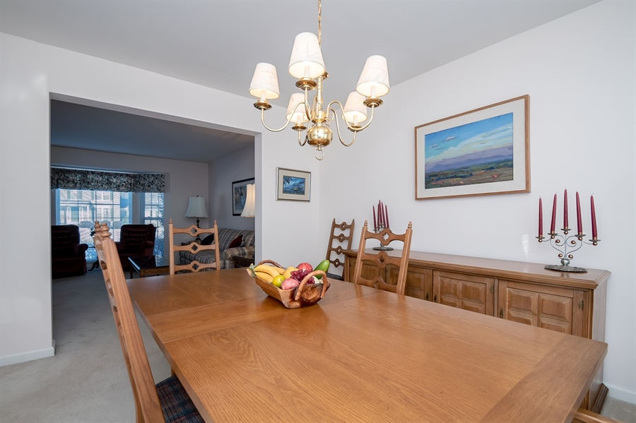 Real Estate Photography - 340 Jessica Dr, Middletown, DE, 19709 - Pretty Dining Room