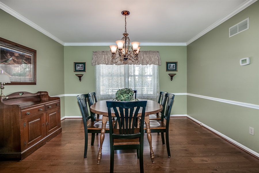 Real Estate Photography - 307 Charleston Dr, Wilmington, DE, 19808 - Dining Room