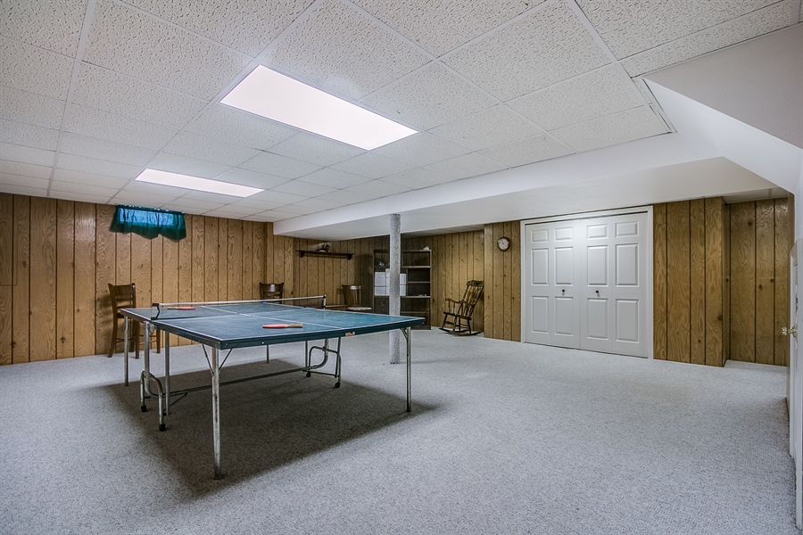 Real Estate Photography - 307 Charleston Dr, Wilmington, DE, 19808 - Spacious Rec Room