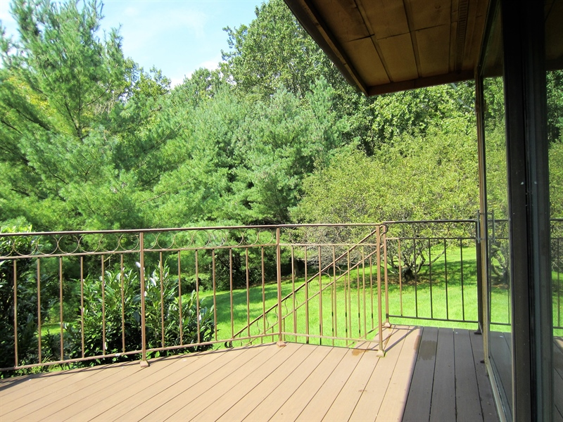 Real Estate Photography - 465 Polly Drummond Hill Rd, Newark, DE, 19711 - Master suite private deck
