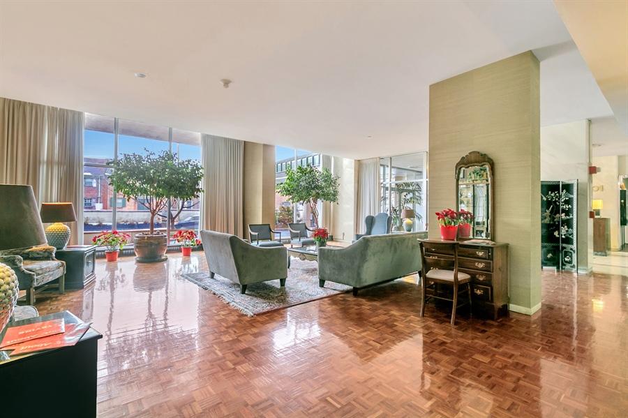 Real Estate Photography - 1401 Pennsylvania Avenue #1414, 1414, Wilmington, DE, 19806 - Comfortable and Elegant Lobby Areas.