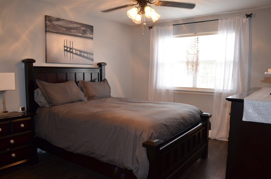 Real Estate Photography - 39 Julie Ln, Newark, DE, 19711 - Updated Master Bedroom w Beautiful floors