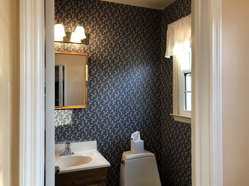 Real Estate Photography - 16 Candate Ct, Newark, DE, 19711 - Powder room on main level