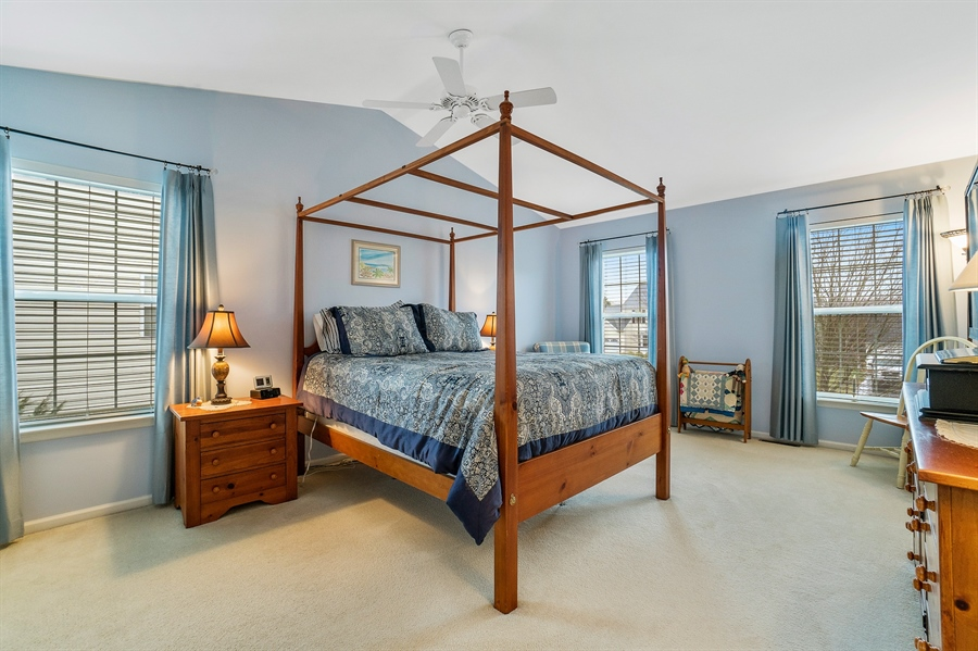 Real Estate Photography - 14 Dearborn Ln, Bear, DE, 19701 - Master Bedroom