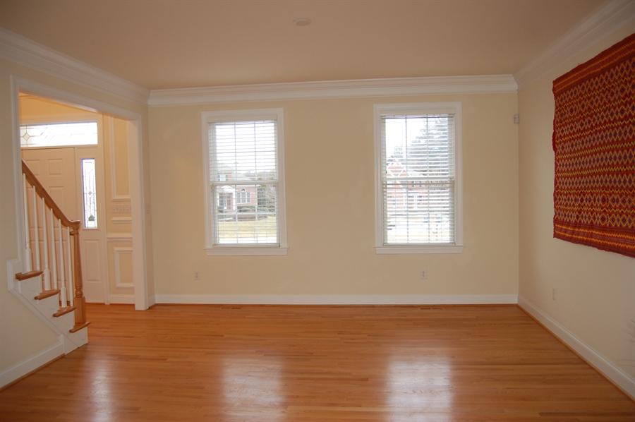 Real Estate Photography - 135 Portmarnock Dr, Avondale, PA, 19311 - Living Room with Hardwood Floors