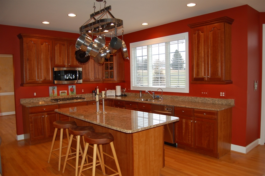 Real Estate Photography - 135 Portmarnock Dr, Avondale, PA, 19311 - Kitchen with Center Island