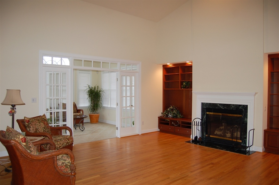 Real Estate Photography - 135 Portmarnock Dr, Avondale, PA, 19311 - Family Room opens to Sunroom